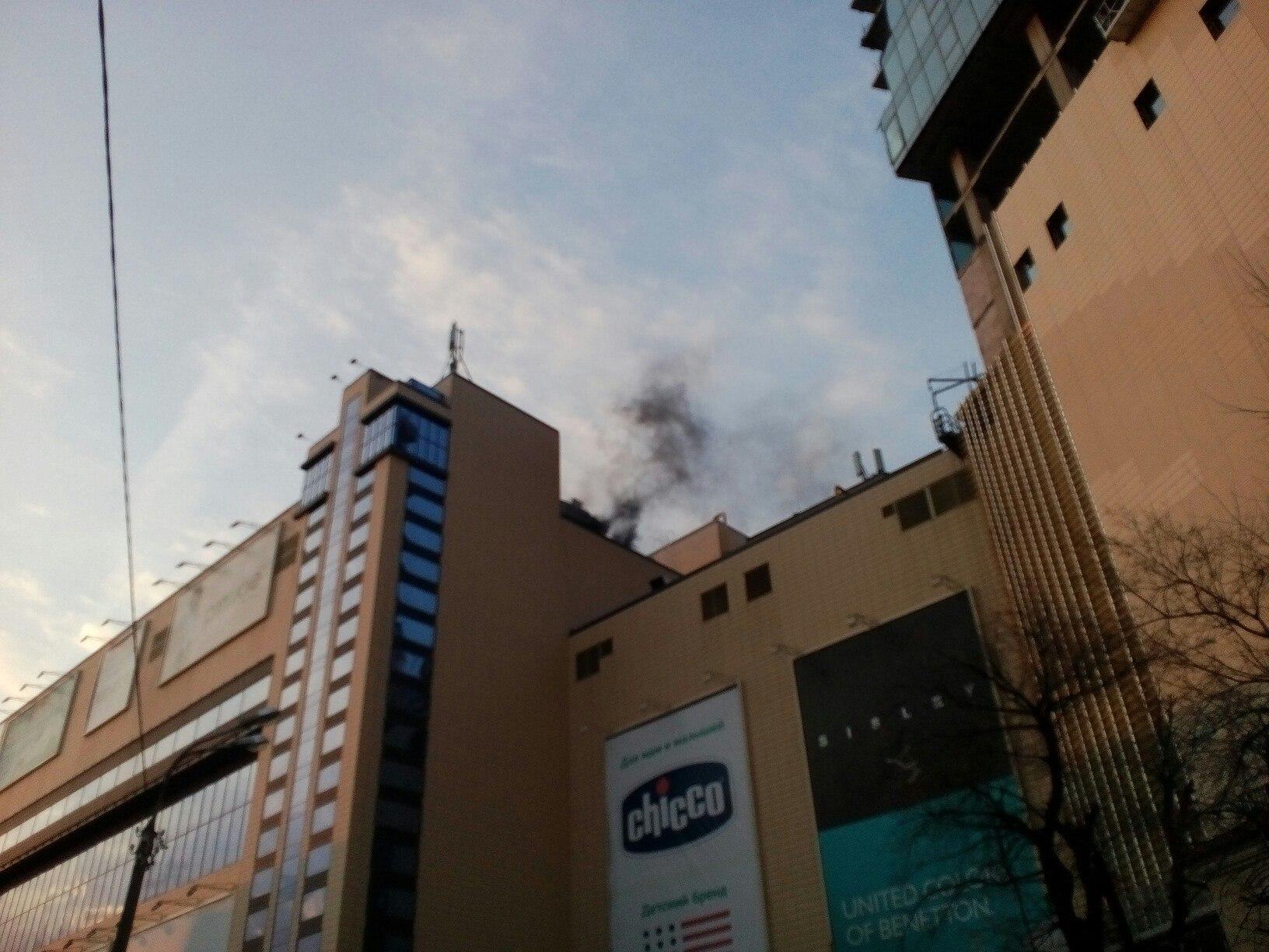 Стала известна вероятная причина пожара вЦентре Галереи Чижова вВоронеже