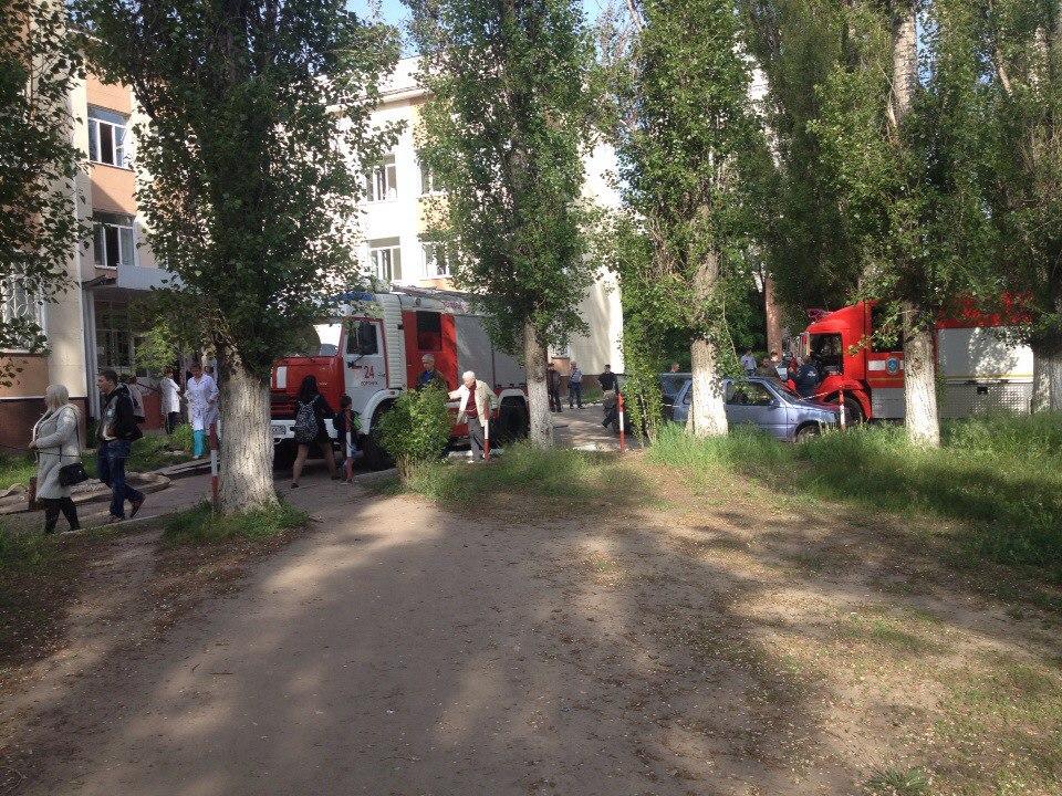 ВВоронеже из-за задымления вполиклинике №12 эвакуировали людей