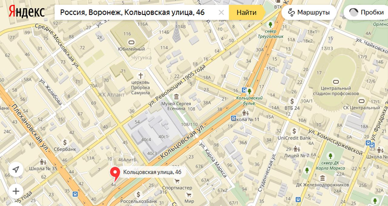 Размещены фото демонтажа монумента Кольцову сСоветской площади Воронежа