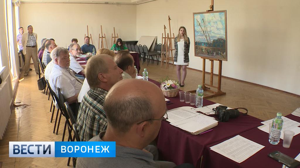 Госэкзамены в Воронежском художественном училище Новости  Ангелина Губайдулина выпускница ВХУ