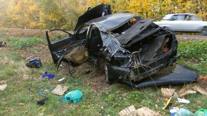 ВВоронежской области Шевроле вылетел вкювет: умер ребенок