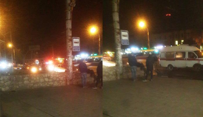ВВоронеже уостановки «Политехнический институт» «Лада» сбила пешехода