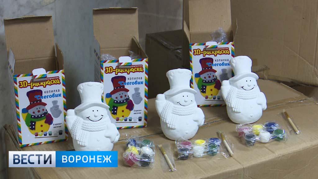 Наворонежской таможне задержаны снеговики